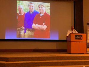 Steve Grant speaking at Pickens County Opiod Summit