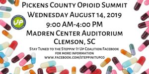 Steve Grant Speaks at the Pickens County Opiod Summit